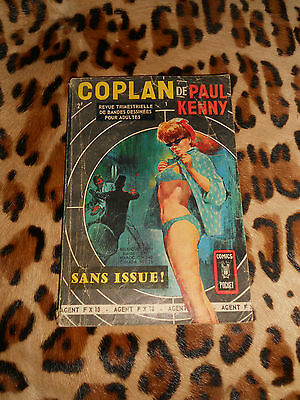 COPLAN 1 : Sans issue - Paul Kenny - Comics pocket, Aredit, 1969