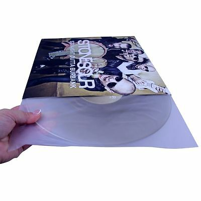 """Spin Care Premium 12"""" Anti-Static Inner Vinyl Record Sleeves (Pack of 50) New"""