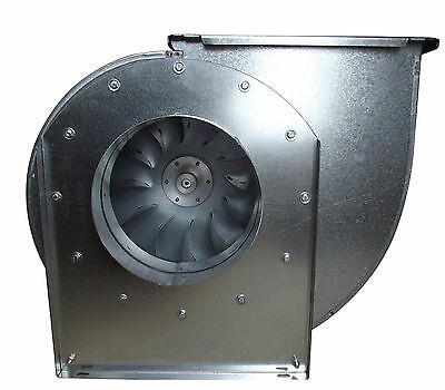 Centrifugal industrial duct extractor fan 1400rpm from 0.5 to 7.5HP
