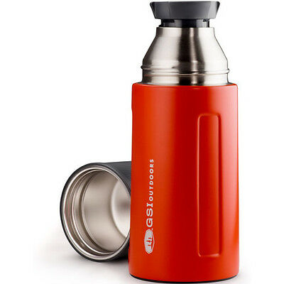 Gsi Outdoors Glacier Stainless 0.5l Vacuum Unisexe Accessoire Gourde - Red