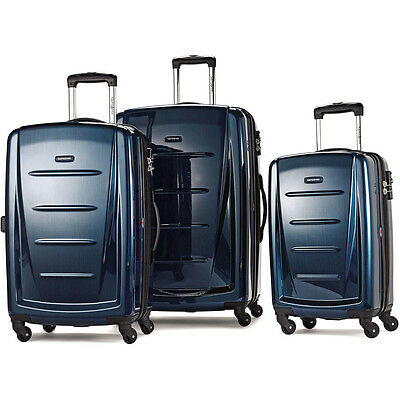 "Samsonite Winfield 2 Fashion Hardside 3 Piece 20"", 24"", 28"" Spinner Luggage Set"