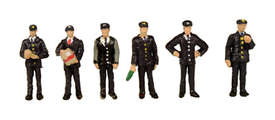 Scenecraft 379-318 Station Staff 1960s- 1970s N Scale