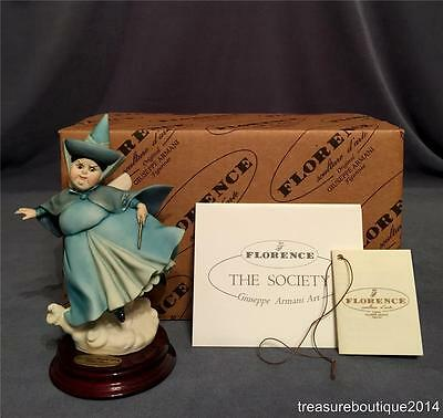"~Mint in Box~Giuseppe Armani Disney Sleeping Beauty Fairy ""Serena"" (607 C)"
