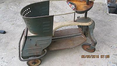 Vintage Baby Stroller Walker Buggy  Buggie  Antique