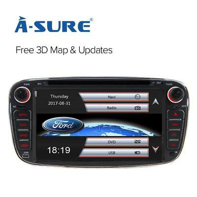 Android 6.0 DAB+ SatNav DVD Player GPS for FORD Mondeo FOCUS KUGA GALAXY C/S-MAX