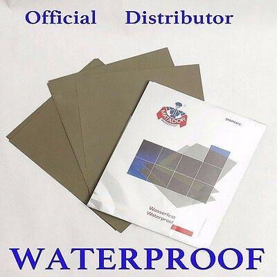 Wet and Dry Sandpaper 3000 - 7000 grit STARCKE Abrasive Waterproof Paper Sheets