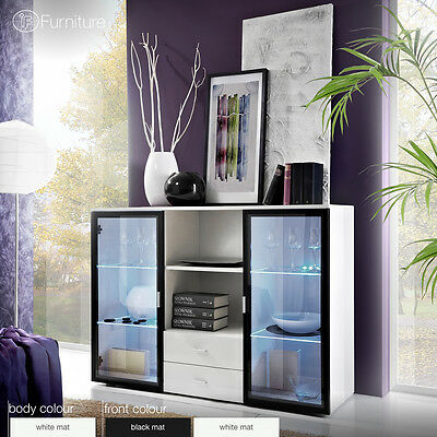 Modern Chest Drawers Cabinet Sideboard Buffet Cupboard ICELAND QUADRO Free P&P