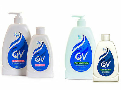 QV Skin Care Gentle Wash / Skin Lotion Collection Multiple Saving Packs