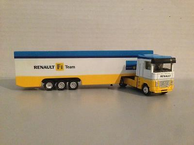Modellino RENAULT F1 TEAM scala 1:87 New Ray camion tir