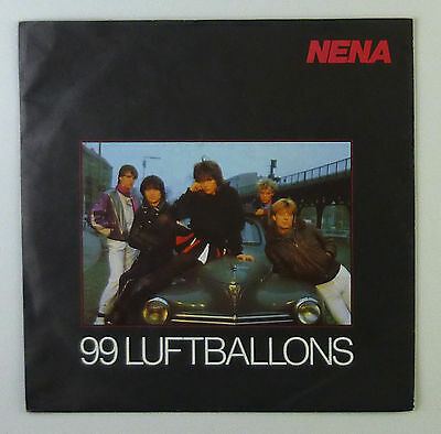 "7"" Single - Nena - 99 Luftballons - s820 - washed & cleaned"
