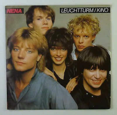 "7"" Single - Nena - Leuchtturm / Kino - s821 - washed & cleaned"