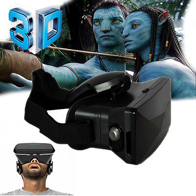 "Occhiali 3D Virtuale Per Iphone Samsung Smartphone 4""-5.7"" Vr Box Game"