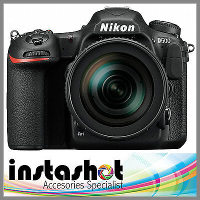 Nikon D500 DSLR Camera (Body Only) - 3 Year Warranty - Multiple Languages