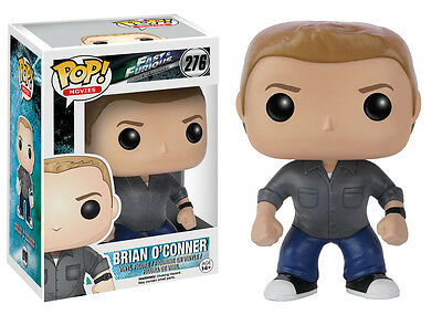 Brian O'conner Fast And The Furious Pop Movies Vinyl Figure Funko New