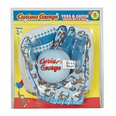 Curious George Mitt and Ball Set New