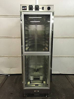 Nu-Vu PRO-16 Full-Height Insulated Glass Door Proofing Cabinet WORKS GREAT!!