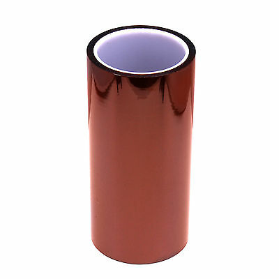 200mm x 100ft High Heat Temperature Resistant Kapton Polyimide GBA Gold Tape