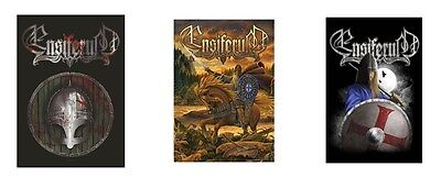 ENSIFERUM - OFFICIAL TEXTILE POSTER FLAG blood is the price of glory - viking