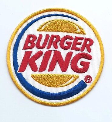 Burger king employee/driver patch 3 in dia