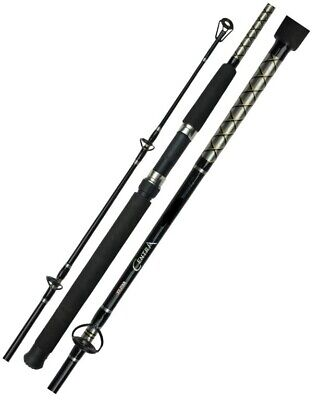 Silstar Centra 4-6kg 8ft 2 Piece Fibreglass Fishing Rod-General Purpose Spin Rod