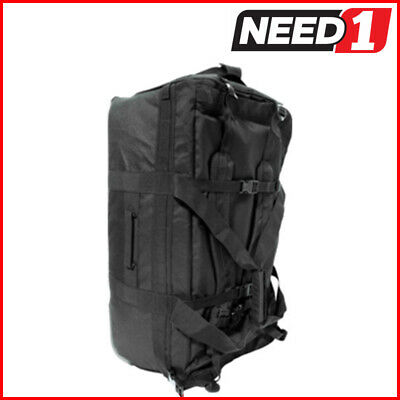 New HUMVEE Roller Deployment Bag Steel Wheels | Weather Resistant Backpack