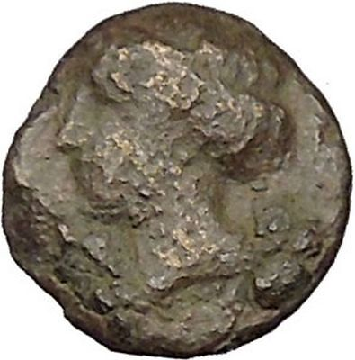 EPHESOS in IONIA Genuine 387BC Bee Female Authentic Ancient Greek Coin i46059