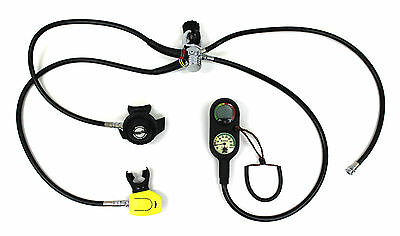 Sherwood Scuba Magnum II Complete Regulator Set with The Source Dive Computer