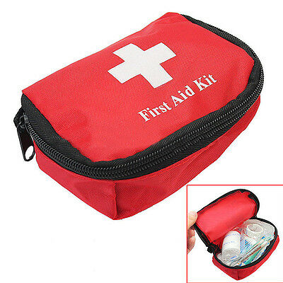 1st First Aid Set Carry Bag Kit Pouch Camping Car Emergency Holiday Travel Home