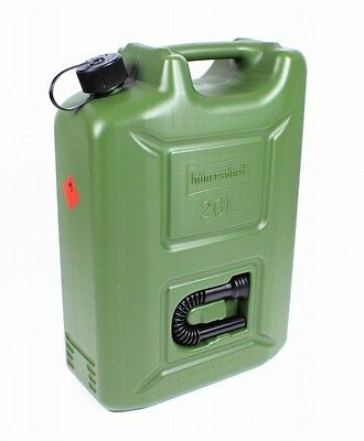 20L Jerry can Fuel Jerry Can olive green 20 Litre UN Approval Diesel E85