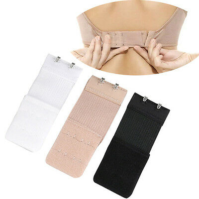 5Pcs Ladies 2 Hook Bra Extender Soft Bra Extension Strap Underwear Belt Adding J