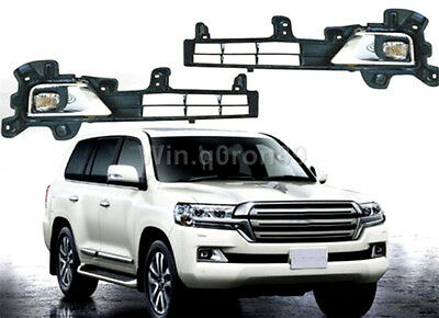 For Toyota Land Cruiser LC200 2016 Front Fog Lamp Light Refit to high-equipped