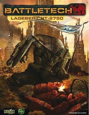 BattleTech Lagebericht 2750 (Deutsch) US40011 Mech Catalyst Game Lab NEU
