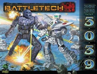 BattleTech Hardware Handbuch 3039 (Deutsch) US44001 Battlemech Catalyst Game Lab