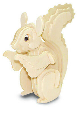 Squirrel - Woodcraft Construction Kit - Wooden Model Kit -Quay- Ages 7+ New FSC
