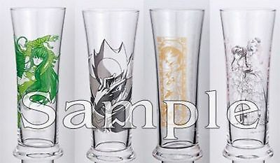 Code Geass Glass set of 4 official anime prize CLAMP Authentic