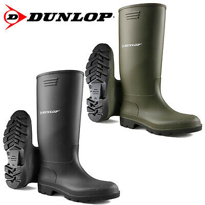 Unisex Dunlop Wellingtons Boots Wellies Fully Waterproof Snow Rain Rubber Shoes