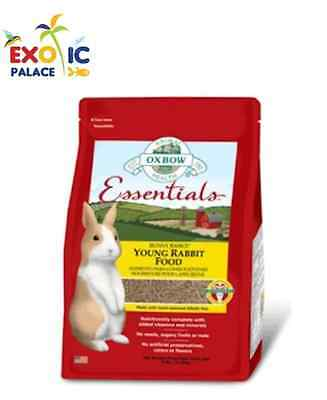 OXBOW ESSENTIALS YOUNG RABBIT FOOD 2,25k PELLET PER CONIGLI GIOVANI CIBO MANGIME