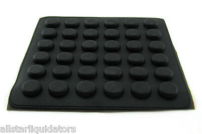 36 Self Stick Rubber Feet for Laptop Notebook Bottom Base 3M Cabinet Door Bumper