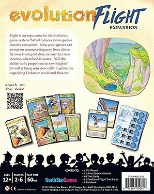 Evolution Flight Expansion Board Game Family Fun Party Games avian species NEW