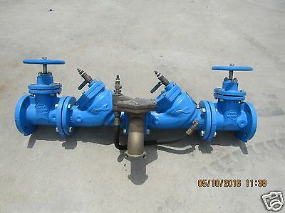 Watts Regulator Rpz Backflow Preventer 909 Mod Size 3'' Used