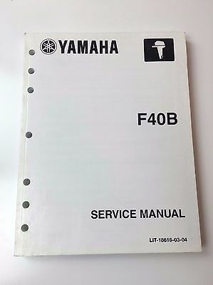 Awesome Yamaha Outboard Service Manual F40B Lit 18616 03 04 H 38 33 Wiring Digital Resources Remcakbiperorg