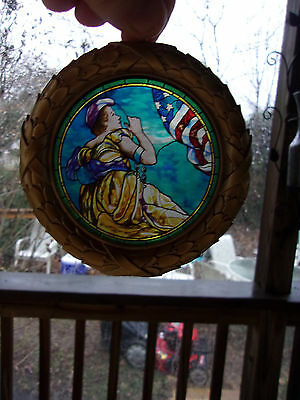 Liberty Pennsylvania Capitol Preservation Committee Stained Glass Suncatcher