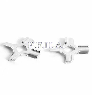 2 Pack Whirlpool Factory Part WPW10408733 FGA Attachment Cutting Blade / Knife