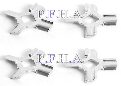 4 Pack Whirlpool Factory Part WPW10408733 FGA Attachment Cutting Blade / Knife