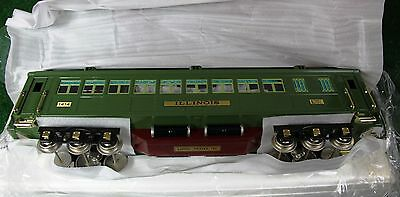 Lionel Classics Green State Set 381E & 4 Cars - Including add-on Illinois Car