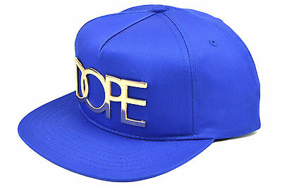 new arrival e530e a1aae ... sweden dope 24k gold premium snapback royal blue authentic imported  from usa f4781 24f5c