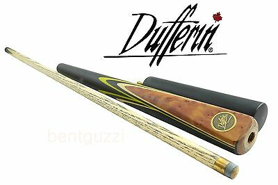 DUFFERIN POOL CUE HCY3  Ashwood 8 Ball 3/4 two-piece + Extension