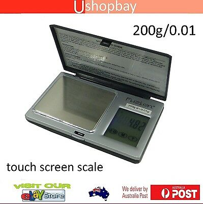 Pocket Touch Screen Scale Digital Jewelry Coin 100g/0.01 Balance Pro BW