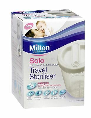 Milton Solo Travel Steriliser White