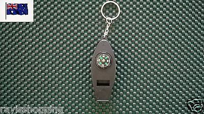 Keyring Compass Magnify Glass Thermometer Whistle Key Ring Keychain Key Chain